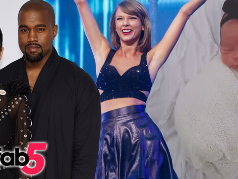 TooFab 5: Kim Kardashian Gives Birth, Taylor Swift's Grammy Gold & More!