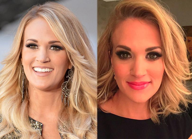 Remarkable Carrie Underwood Cut Her Hair Carrie Get Free Printable Hairstyles For Women Draintrainus