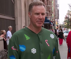 "Will Ferrell Demands Holiday Cheer From Random Strangers In New ""Billy On The…"