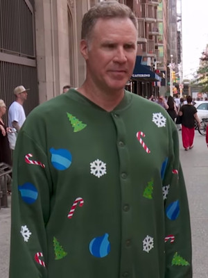 "Will Ferrell Demands Holiday Cheer From Random Strangers In New ""Billy On The Street"""