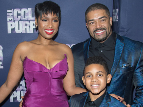 "Jennifer Hudson's Adorable Family Supports Her at Opening Night of Broadway's ""The Color…"