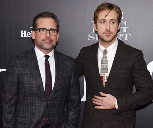 "Why Steve Carell Was ""Intimidated"" to Work With Pitt, Gosling & Bale in…"