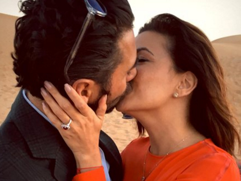 Eva Longoria Engaged to Jose Antonio Baston -- See the Ring!