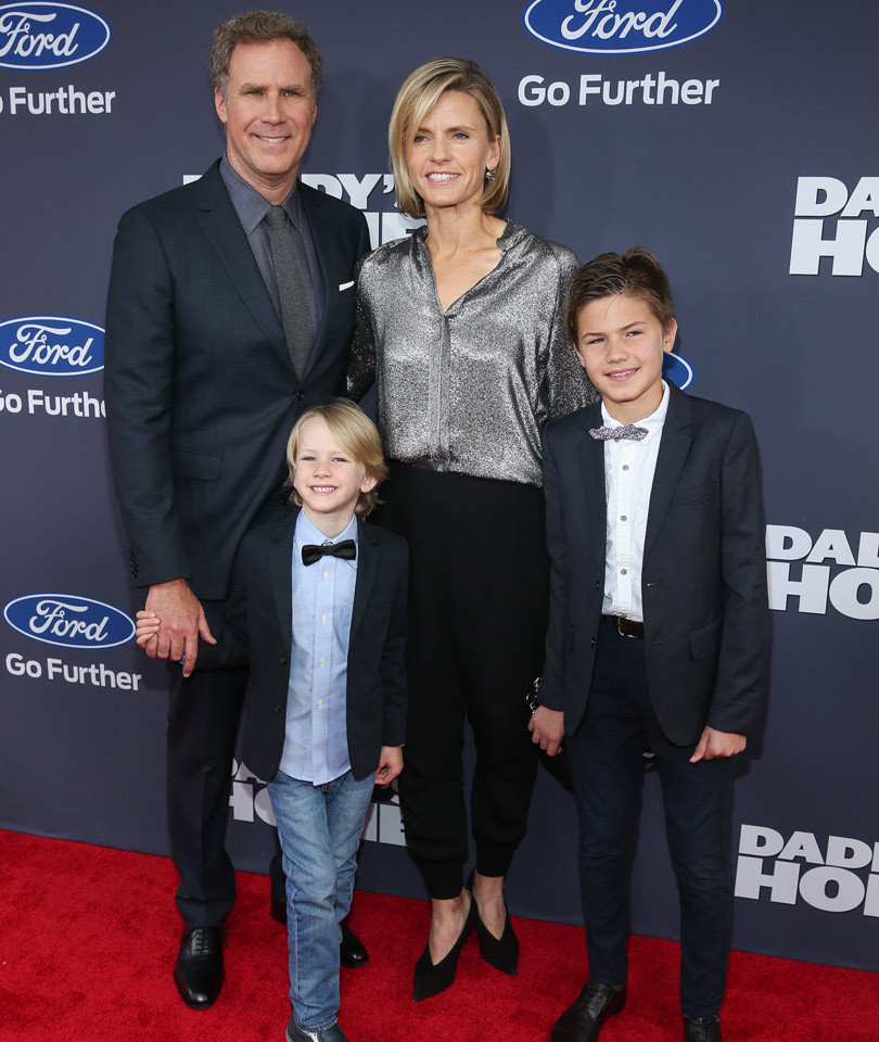 "Will Ferrell Brings His Adorable Kiddies To ""Daddy's Home"" Premiere!"