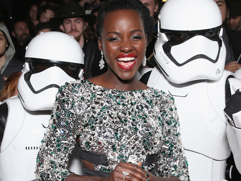 "It's Finally Here! See All the Red Carpet Pics from the ""Star Wars: The Force Awakens""…"