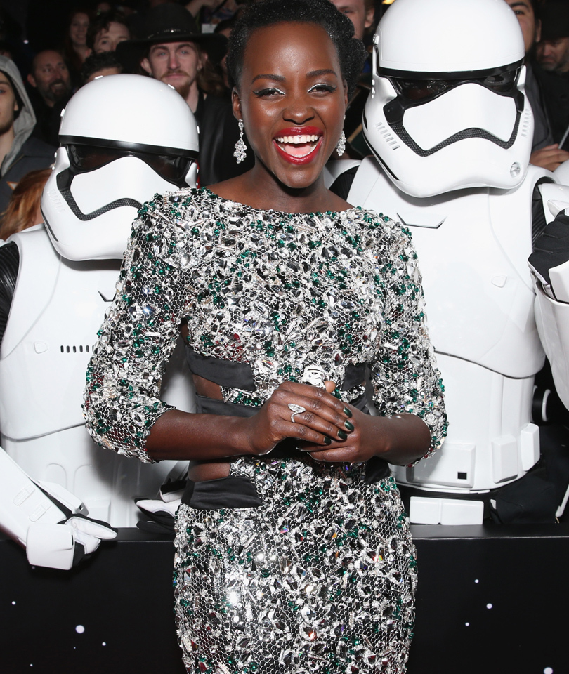 """It's Finally Here! See All the Red Carpet Pics from the """"Star Wars: The Force…"""