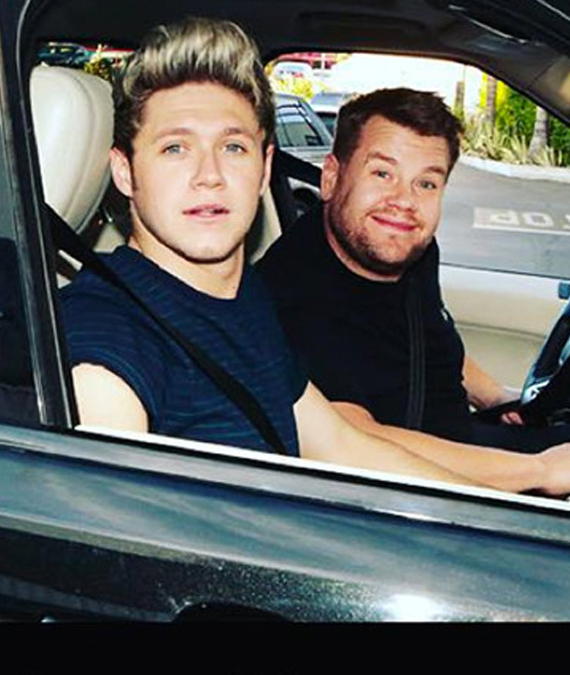 One Direction Does Carpool Karaoke With James Corden -- Did Niall Say He'd…