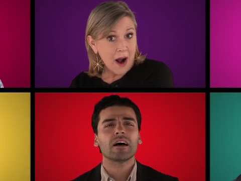 "Watch ""The Force Awakens"" Cast Sing A Cappella Tribute to ""Star Wars"" -- Yes, Even…"