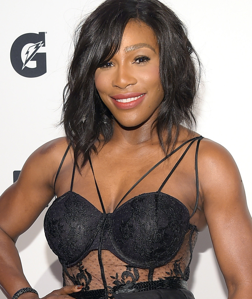 Serena Williams Rocks Sexy Lingerie-Inspired LBD For SI's Sportsperson of the…