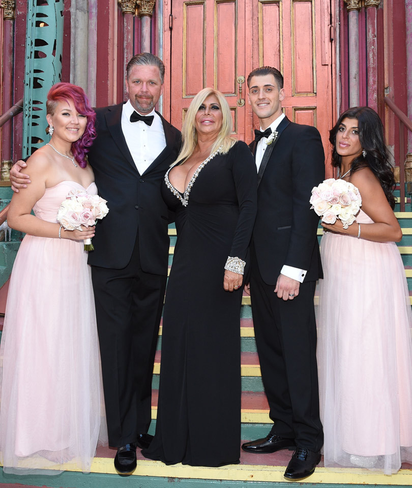 Big Ang's Boobs Nearly Pop Out of Her Dress Before Her Son's Wedding -- You've…