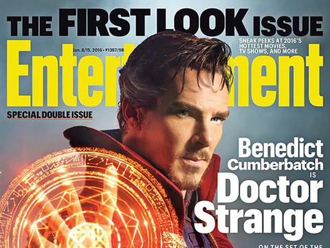 "See First Photo of Benedict Cumberbatch In Costume as ""Doctor Strange"""