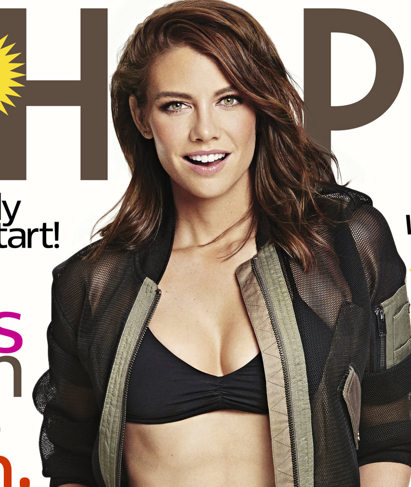 """The Walking Dead's"" Lauren Cohan Flashes Rock-Hard Abs For Shape: ""I Am The…"
