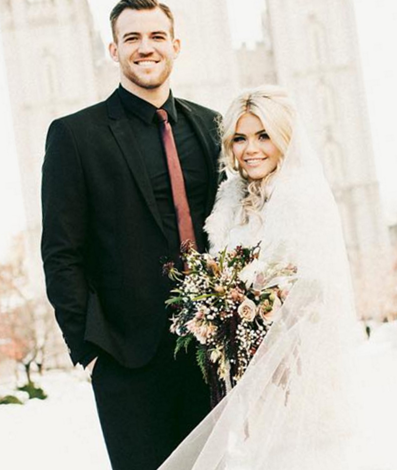 """DWTS"" Pro Witney Carson Marries High School Sweetheart -- See Gorgeous Wedding…"
