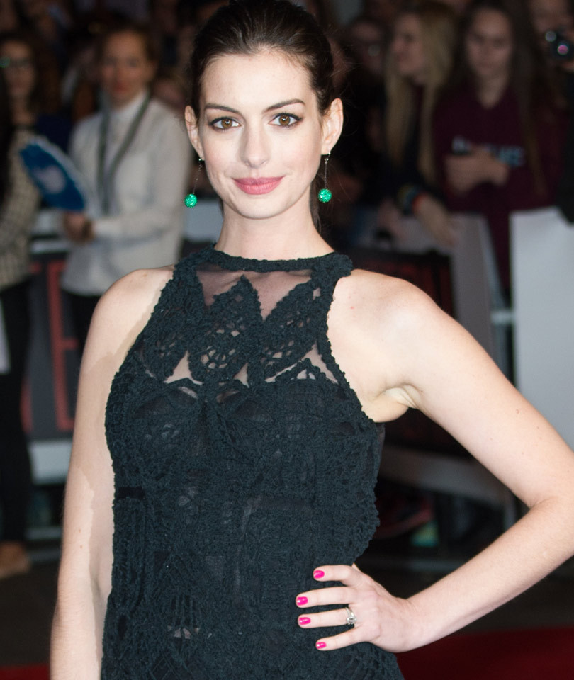 Anne Hathaway Confirms Pregnancy with Baby Bump Pic -- In a Bikini!