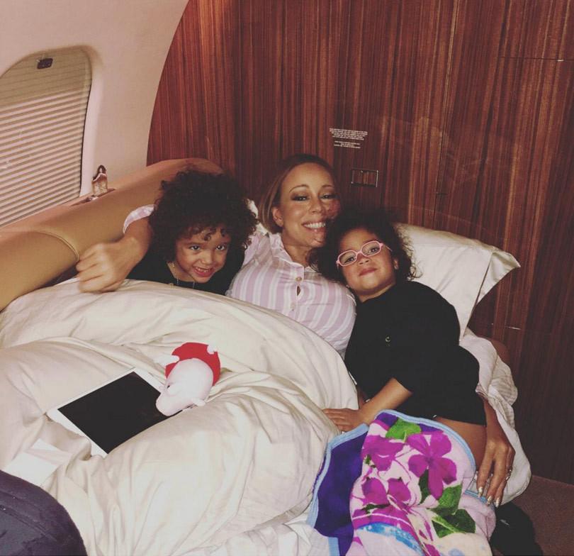 Mariah Carey Kids Mariah Carey Shares Sw...