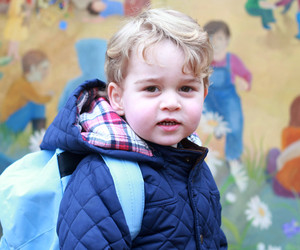 Prince George Starts Nursery School -- See His Adorable First Day Pics!