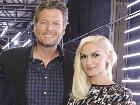 Gwen Stefani & Blake Shelton Take Their Romance to Twitter -- See Their Super Flirty…