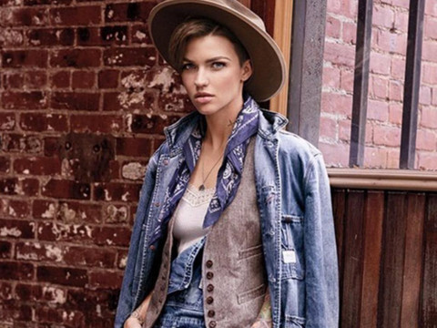 Ruby Rose Named New Face of Ralph Lauren's Denim & Supply -- And the First Ads Are…