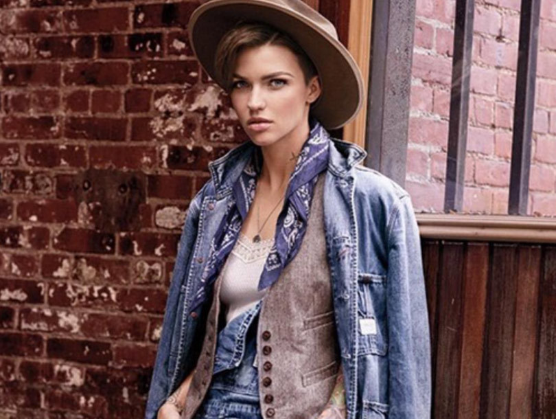Ruby Rose Named New Face of Ralph Lauren's Denim & Supply -- And the First…
