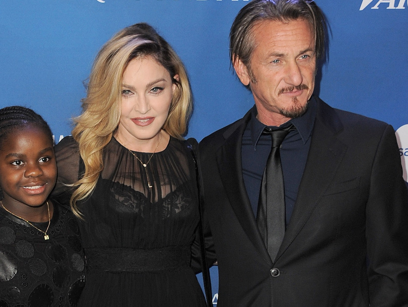 Back On? Madonna & Sean Penn Spotted Holding Hands at Haiti Fundraiser