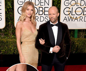 Rosie Huntington-Whiteley & Jason Statham Are Engaged -- Debuts Gorgeous…