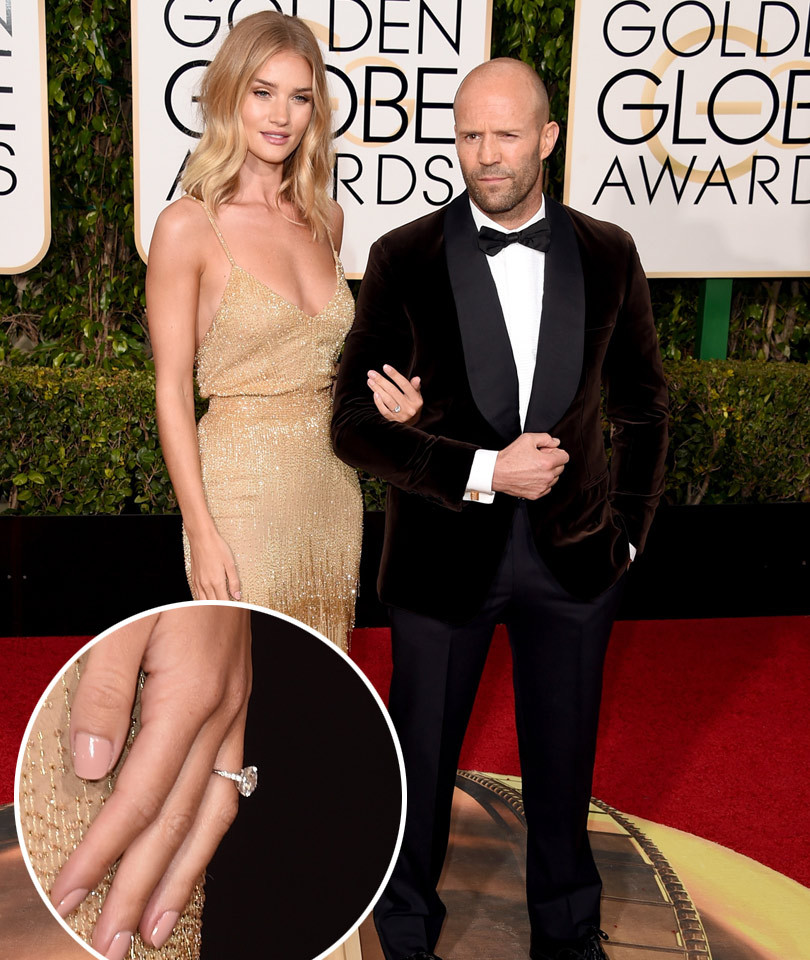 Rosie Huntington-Whiteley & Jason Statham Are Engaged ...