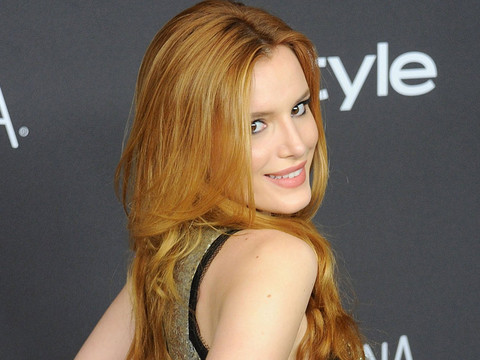 Bella Thorne Ditches Her Underwear In See-Through Gown at Golden Globe After-Party