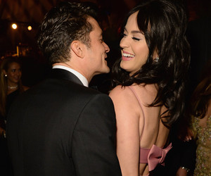 """Katy Perry & Orlando Bloom Get """"Flirty"""" At Golden Globes After-Party -- See…"""