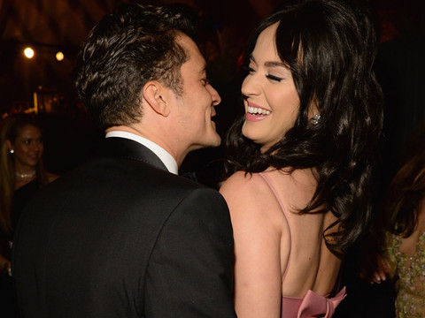 "Katy Perry & Orlando Bloom Get ""Flirty"" At Golden Globes After-Party -- See The Pics!"