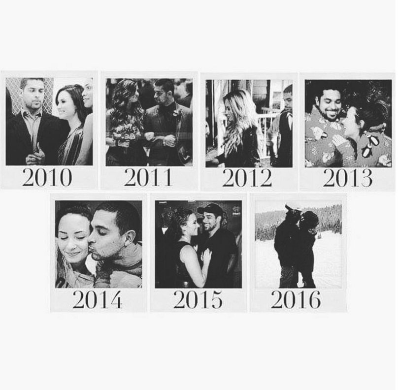 Demi Lovato and Wilmer Valderrama Celebrate 6 Years Together With a Trip Down Memory Lane