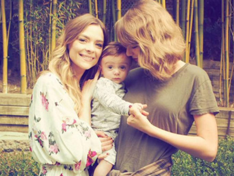 See Taylor Swift's Sweet Visit with Godson Leo and BFF Jaime King
