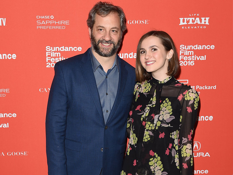 Wow! Judd Apatow and Leslie Mann's Daughter Looks All Grown Up At Sundance