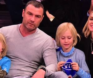 Liev Schreiber and Naomi Watts Have a Cute Family Night at the Knicks Game