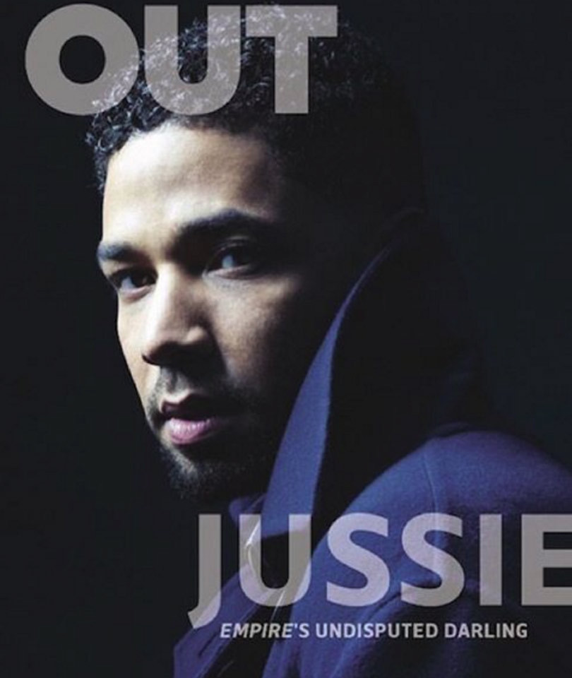 """""""Empire"""" Star Jussie Smollet Says He's Gay, But Is Open to Falling In Love with a Woman"""