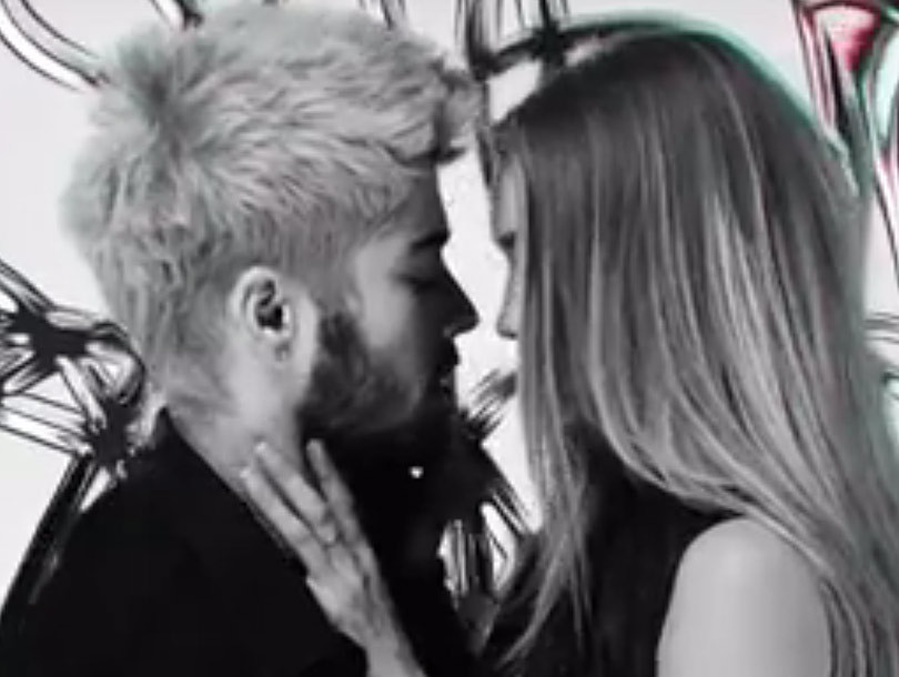 """Zayn Malik Makes Out With Gigi Hadid in Super Sexy """"Pillowtalk"""" Music Video"""