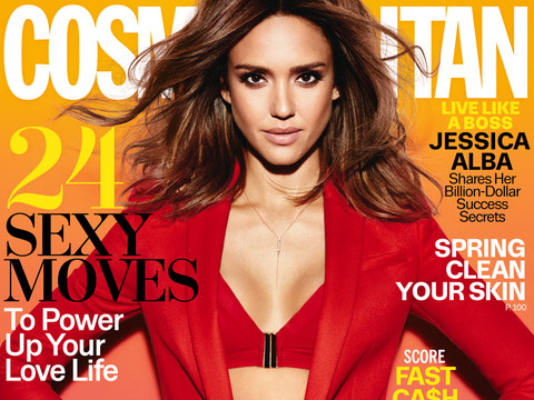 Jessica Alba Sizzles In Cosmopolitan, Says She Identifies More With Her Masculine Side