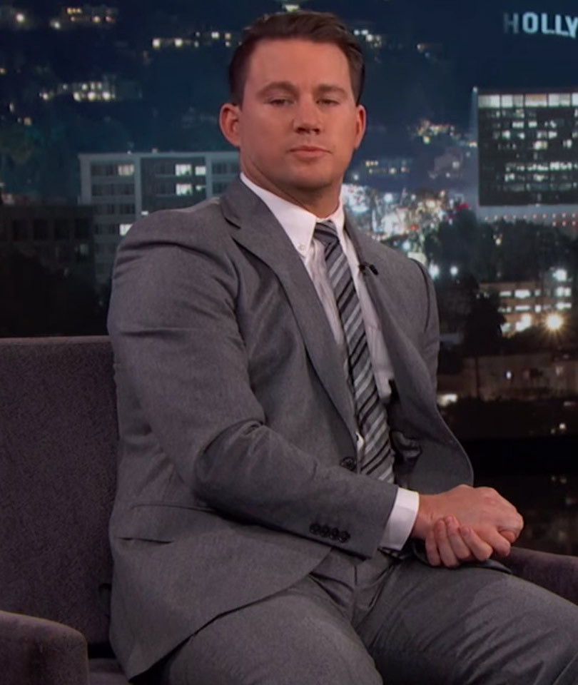 Channing Tatum Surprises Complete Stranger with Epic Valentine's Date on Kimmel