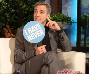 "George Clooney and Rihanna Play One Incredible (And Revealing) Game of ""Never…"