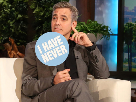"George Clooney and Rihanna Play One Incredible (And Revealing) Game of ""Never Have I Ever"""