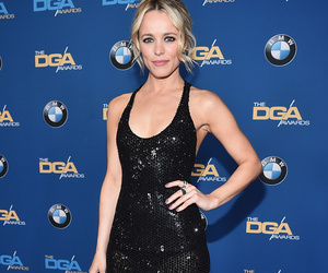 Rachel McAdams Sizzles In Slinky Black Gown at Director's Guild of America…
