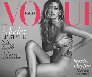 Gigi Hadid Goes Completely Naked for Her First Vogue Paris Cover -- And Her…