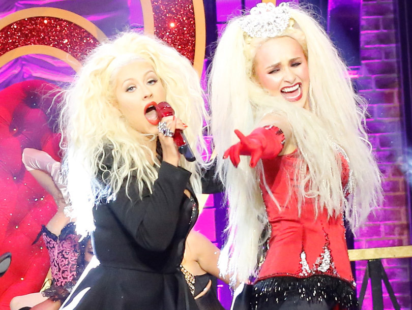 """Hayden Panettiere Does """"Lady Marmalade"""" on """"Lip Sync Battle"""" -- with Christina as a Surprise Guest!"""