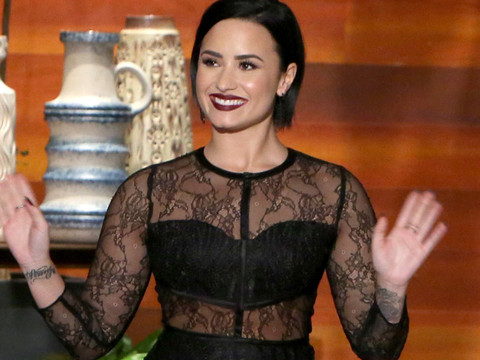 Demi Lovato Credits the Kardashians For Helping Her Love Her Curves -- Plus, Is She…