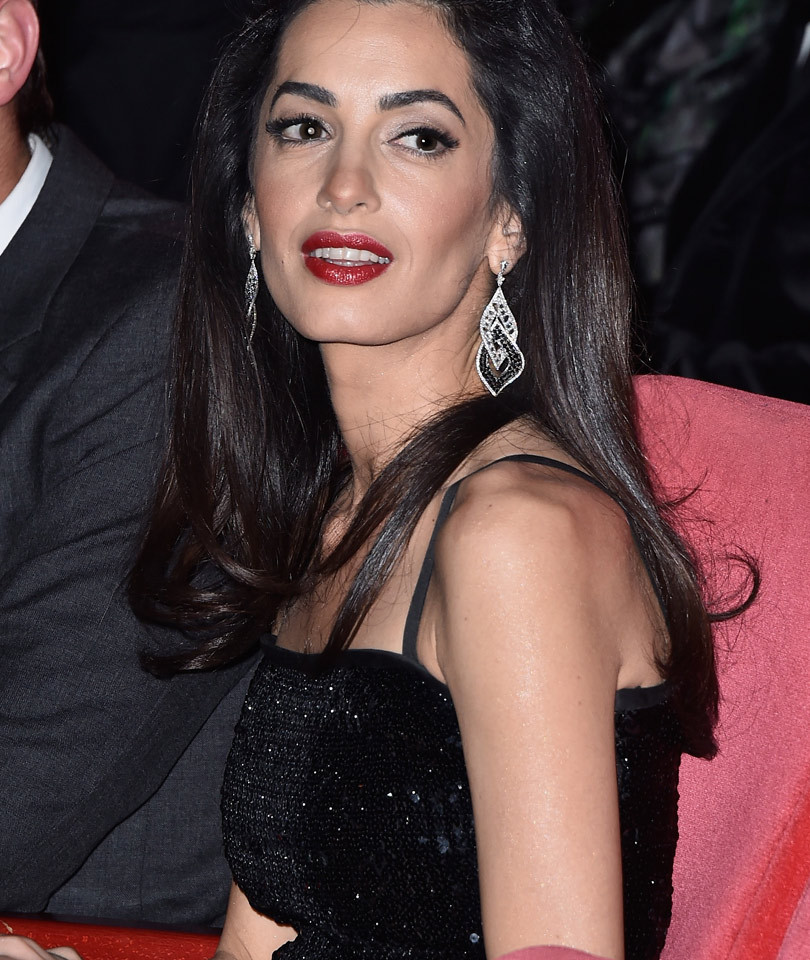 Jaw-Dropping! See Amal Clooney's Glam Red Carpet Appearance with George In…