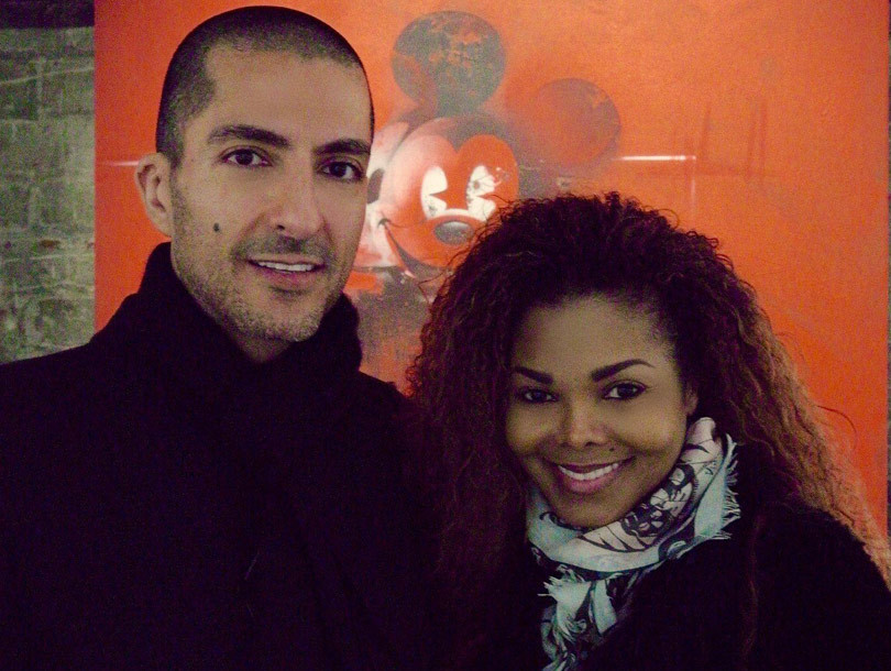 """Janet Jackson Resurfaces with Her """"Sweetie"""" Following Mystery Illness"""