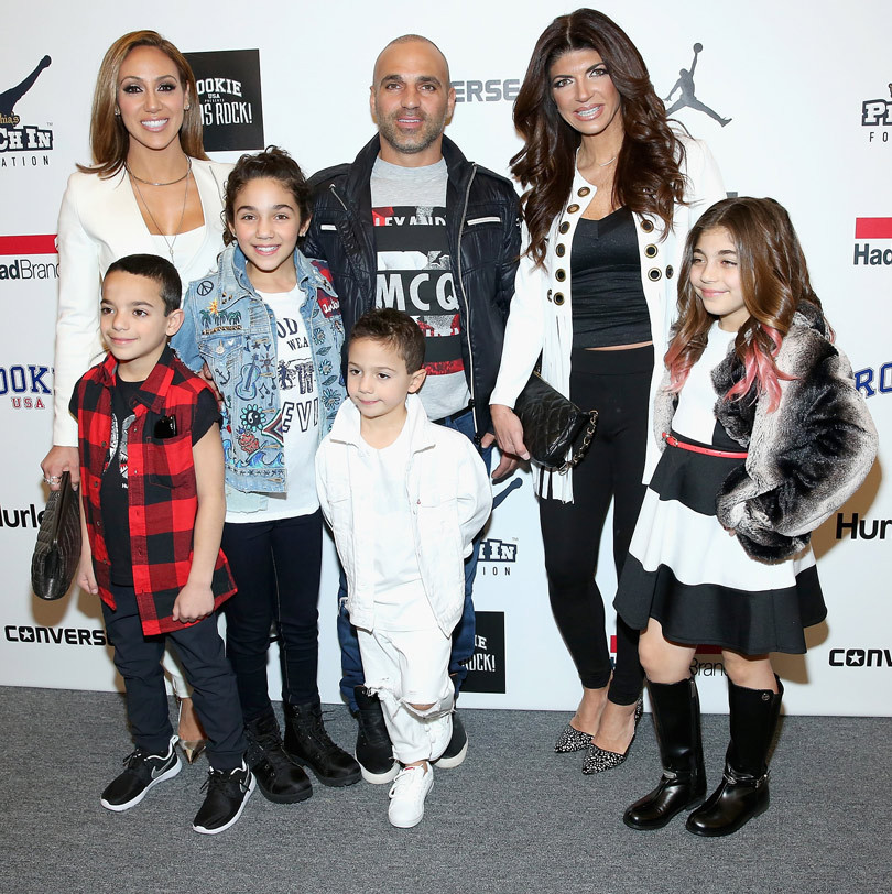 """""""Real Housewives"""" & Their Kids Take Over NYFW: Melissa Gorga's Boys & Camille Grammer's Daughter Rock Runway!"""
