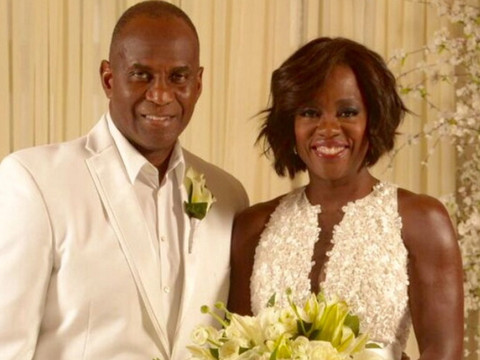 "Viola Davis & Husband Julius Tennon Renew Their Vows --""HTGAWM"" Stars Attend Ceremony!"