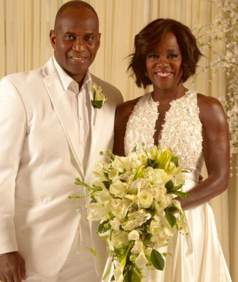 "Viola Davis & Husband Julius Tennon Renew Their Vows --""HTGAWM"" Stars…"