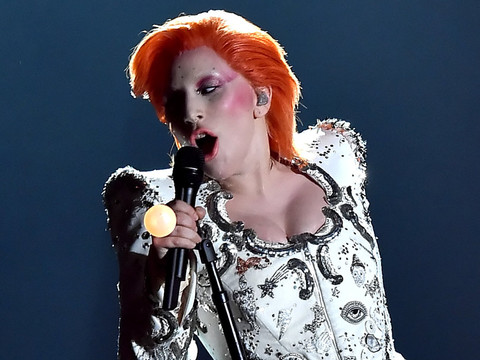 Lady Gaga Proves She's the Perfect Person to Honor David Bowie with Epic Grammy Tribute