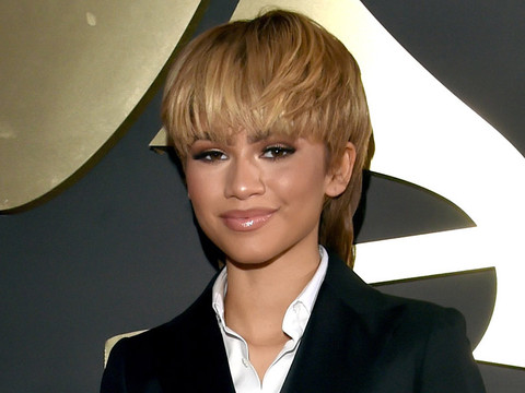 Zendaya Rocks a Mullet At 2016 Grammy Awards -- See Her New Throwback 'Do!